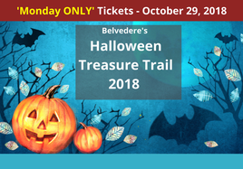 MONDAY Halloween Treasure Trail at Belvedere House, Gardens and Park.