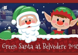 Visit Green Santa at Belvedere - Just 2 Dates Left!