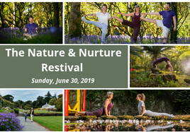 The Nature & Nurture Restival - an amazing day of activities and health and wellness talks. BOOK NOW.