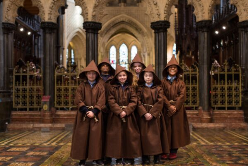 Children's Monk Tour,  every Saturday at 11am to Sept 28