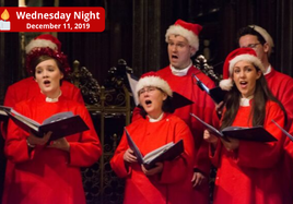 Wednesday Night 'Carols by Candlelight' CHRISTMAS CONCERT with Christ Church Cathedral Choir