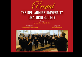 Lunchtime Recital with the Bellarmine University Oratorio Society from Kentucky