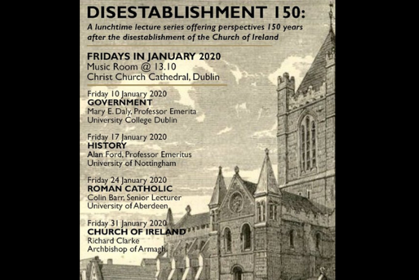 Disestablishment 150: Lunchtime Lecture - Alan Ford
