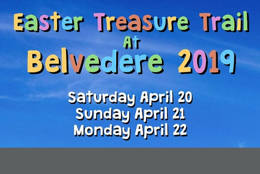 Easter Treasure Trail at Belvedere 2019 - Fun for Families. Booked Out!
